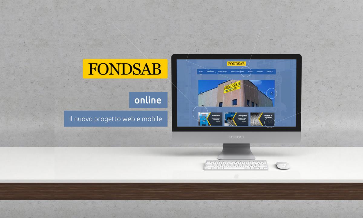 Nuovo sito web Fondsab Sabbiatrici e Granigliatrici