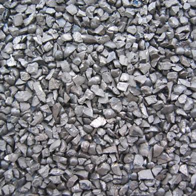 Materiale per sabbiature – Graniglia angolosa acciaio inox