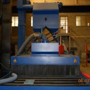 Granigliatrice RULLI TECNOBLAST 1700x300 5TR