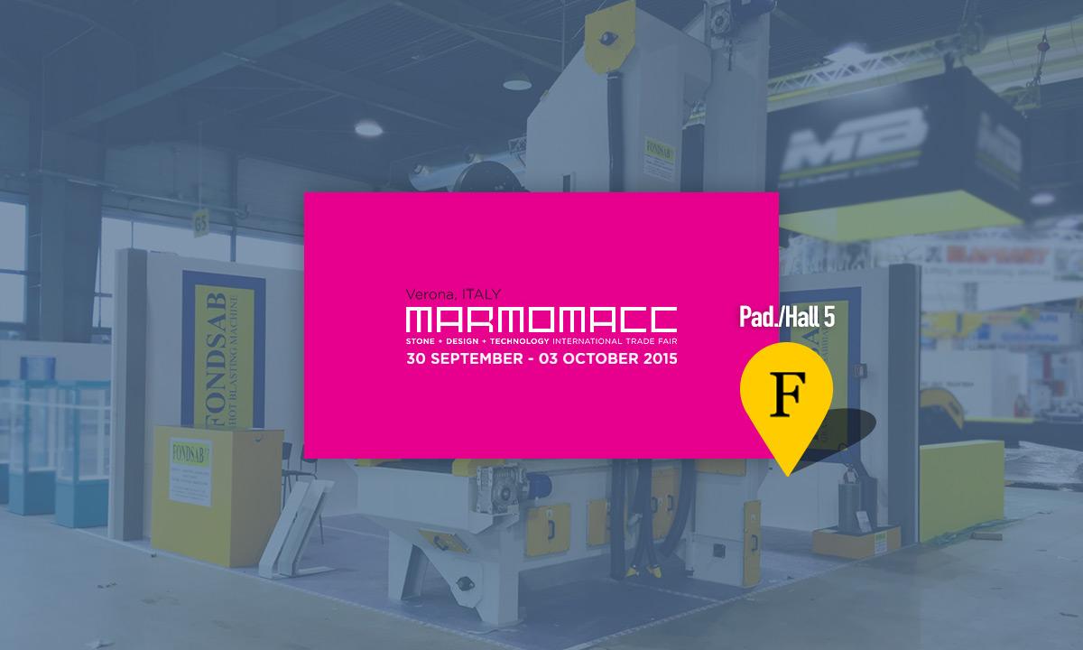 Fondsab Stand Marmomacc 2015
